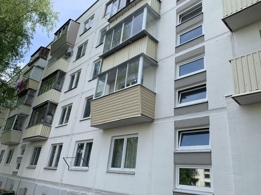 Отделка балкона в Минске — фото 2