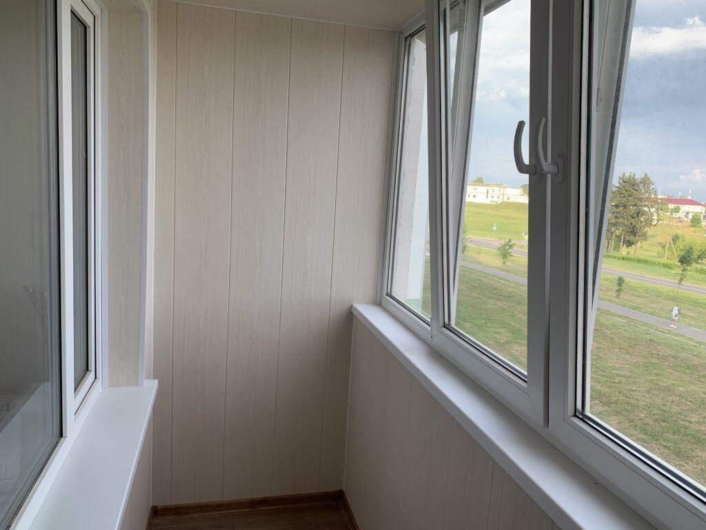 Отделка балкона внутри — фото 1
