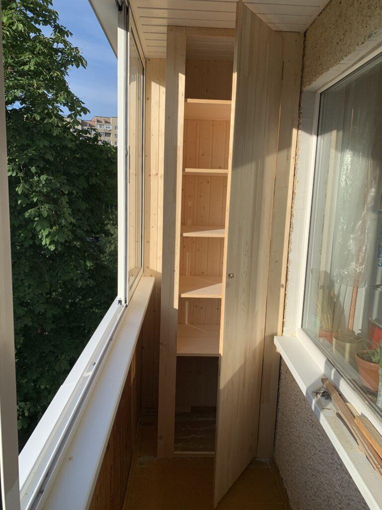 Отделка балкона в Минске — замеры и дизайн