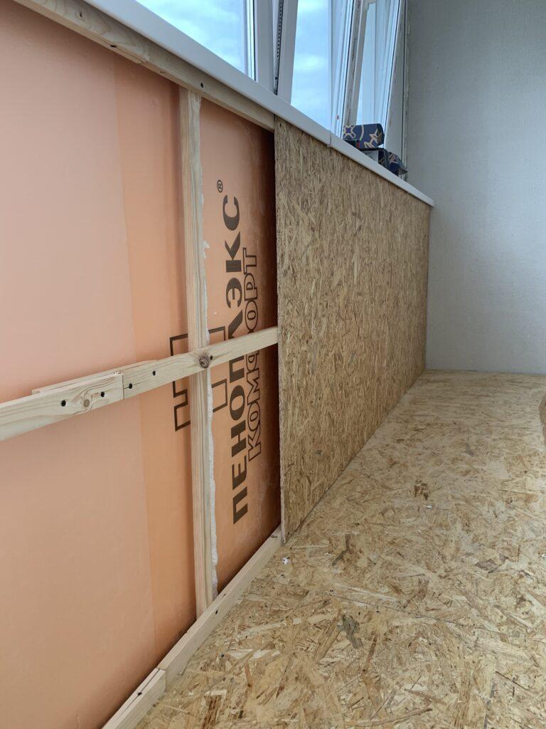 Монтаж элементов балкона — фото 1